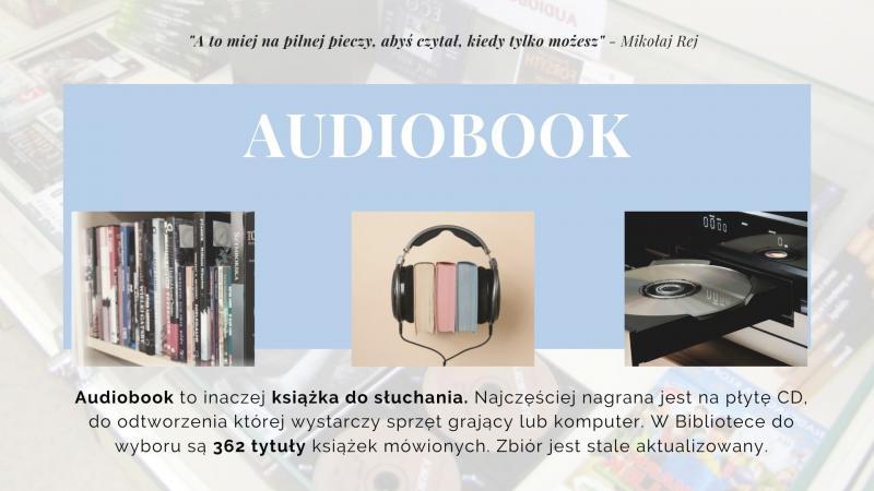 Część druga prezentacji na Tydzień Bibliotek, znajdziesz mnie w bibliotece - audiobook