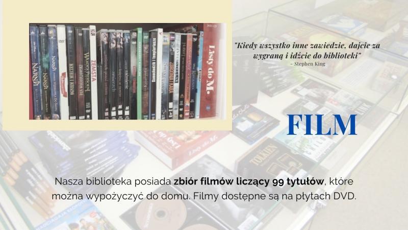 Część czwarta prezentacji na Tydzień Bibliotek, znajdziesz mnie w bibliotece - film